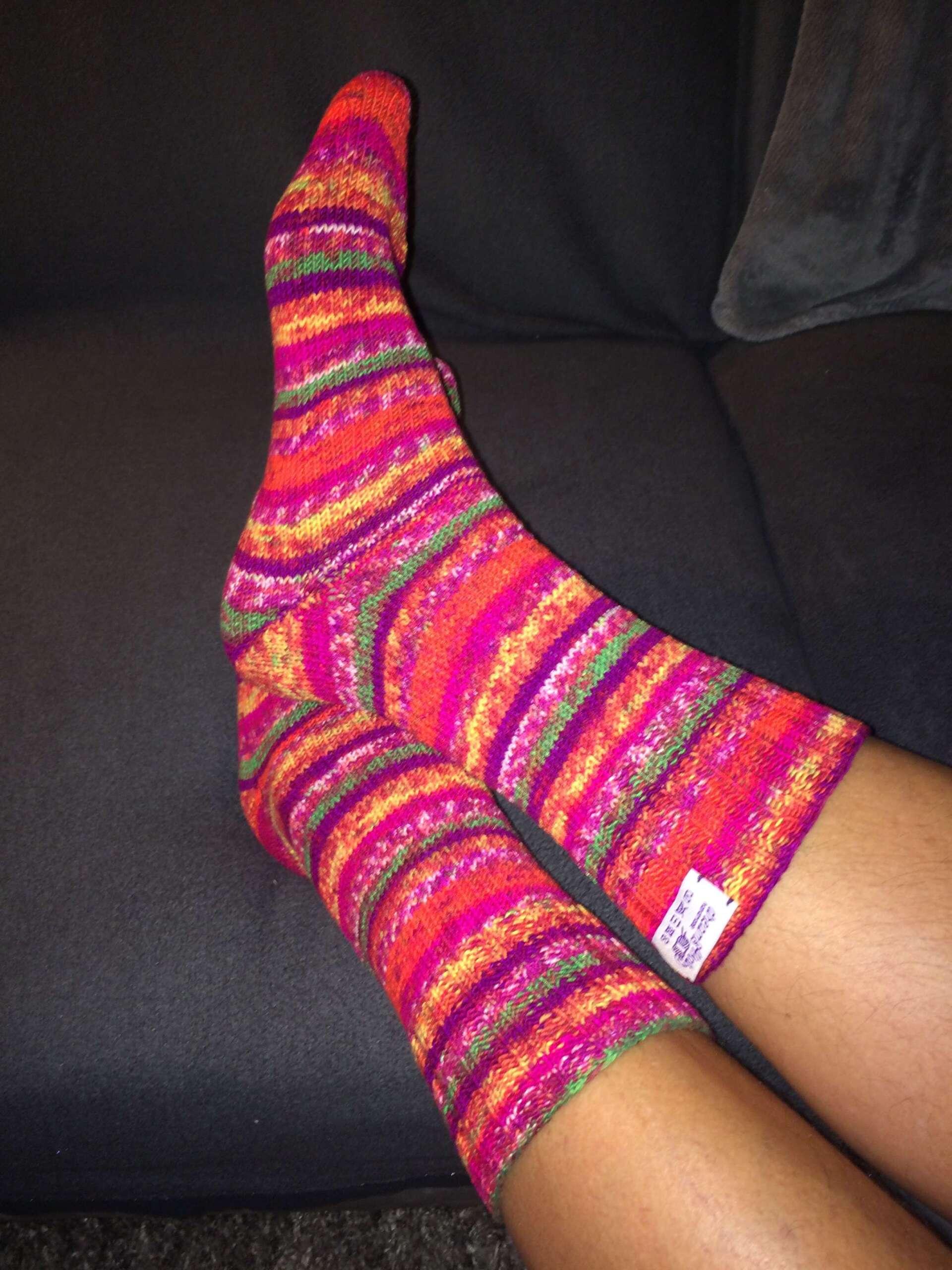 Es geht nichts über handgestrickte Socken