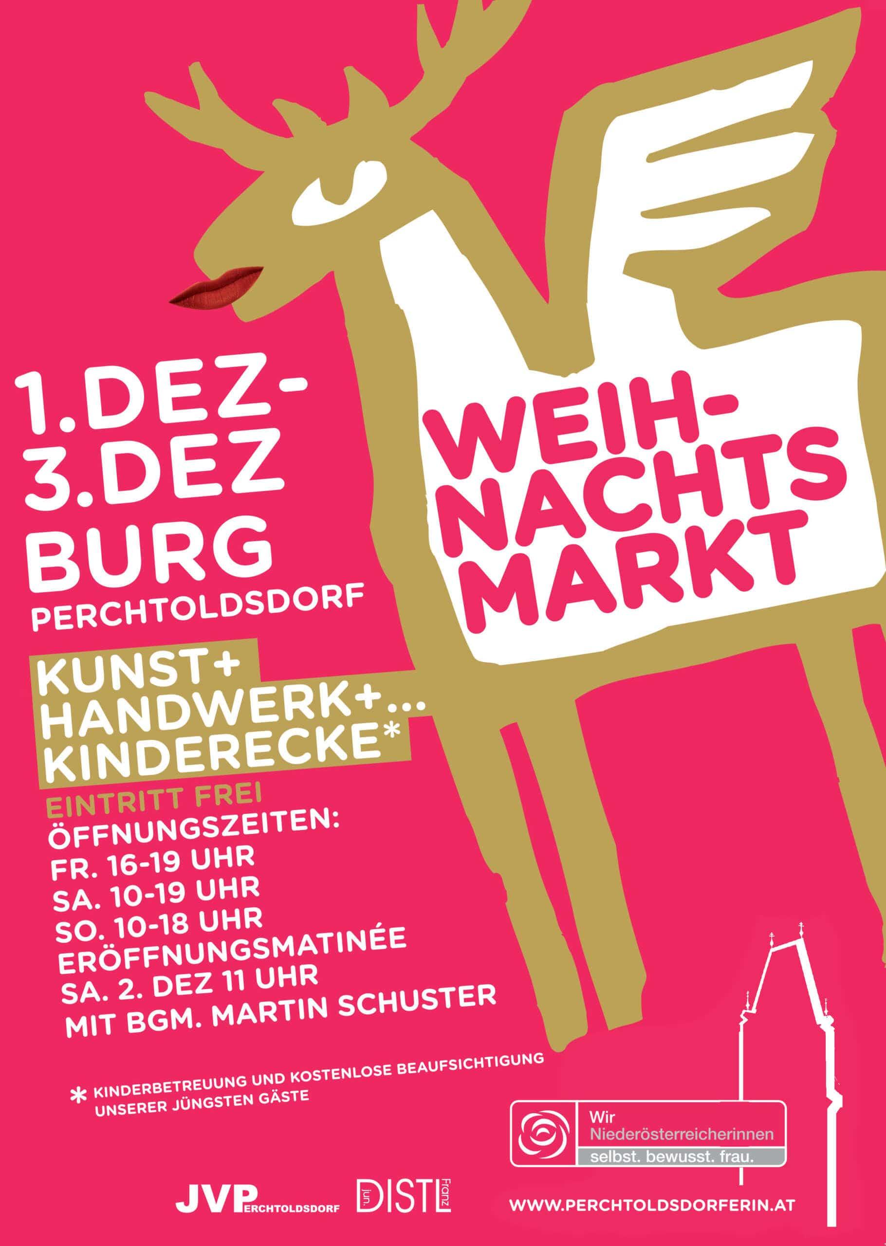 Weihnachtsmarkt in der Burg Perchtoldsdorf