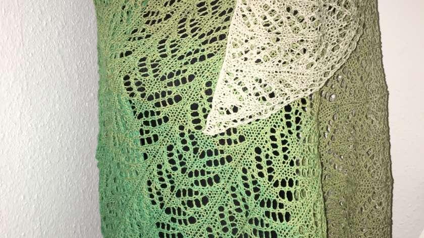Farbverlauf in Baumwolle