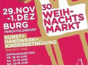 30. Weihnachtsmarkt in der Burg Perchtoldsdorf