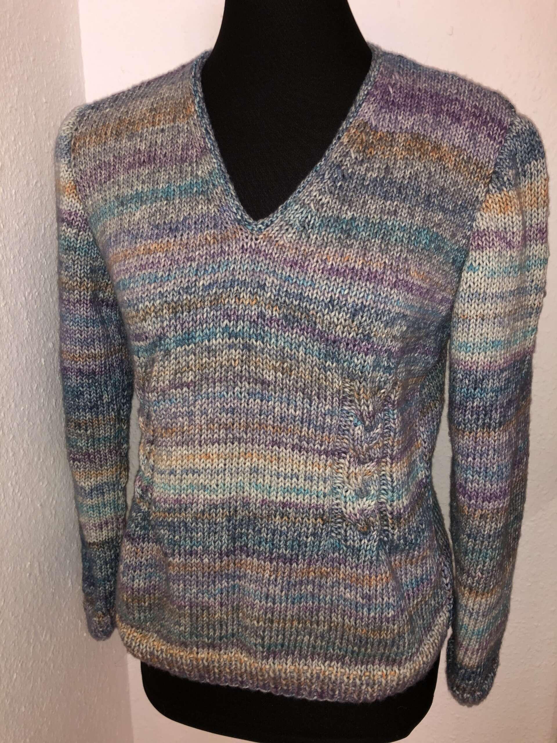 Ein zarter Pullover für den Winter