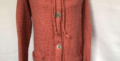 Eine dicke Jacke für Aprilwetter
