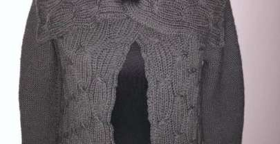 Tolle Kuscheljacke mit Muster