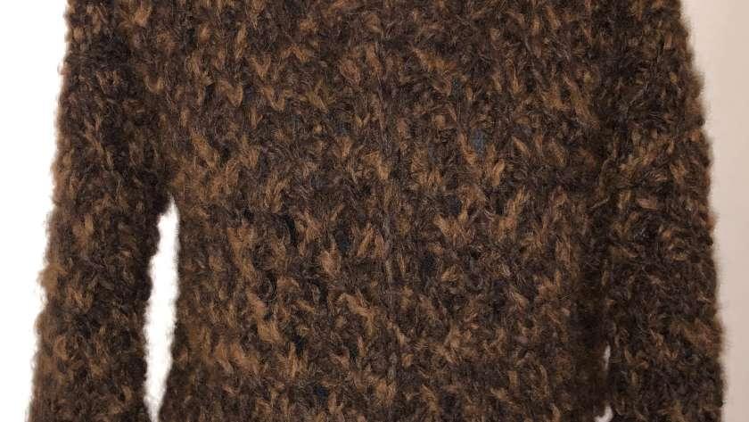 Etwas zum Kuscheln: Jacke aus Alpaka